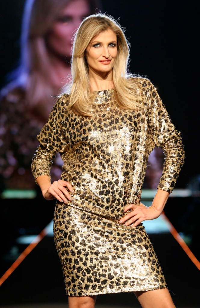 Tereza Maxova in Czech designer at gala