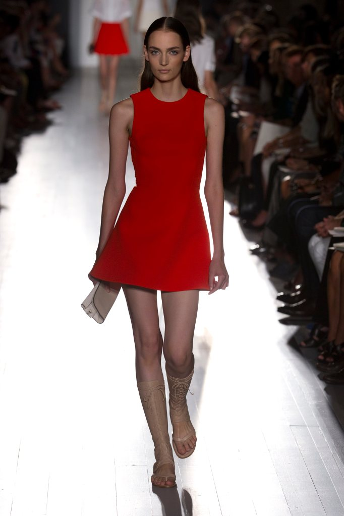 Forget the little black dress! This smoking little red dress is perfect for those hot summer nights!