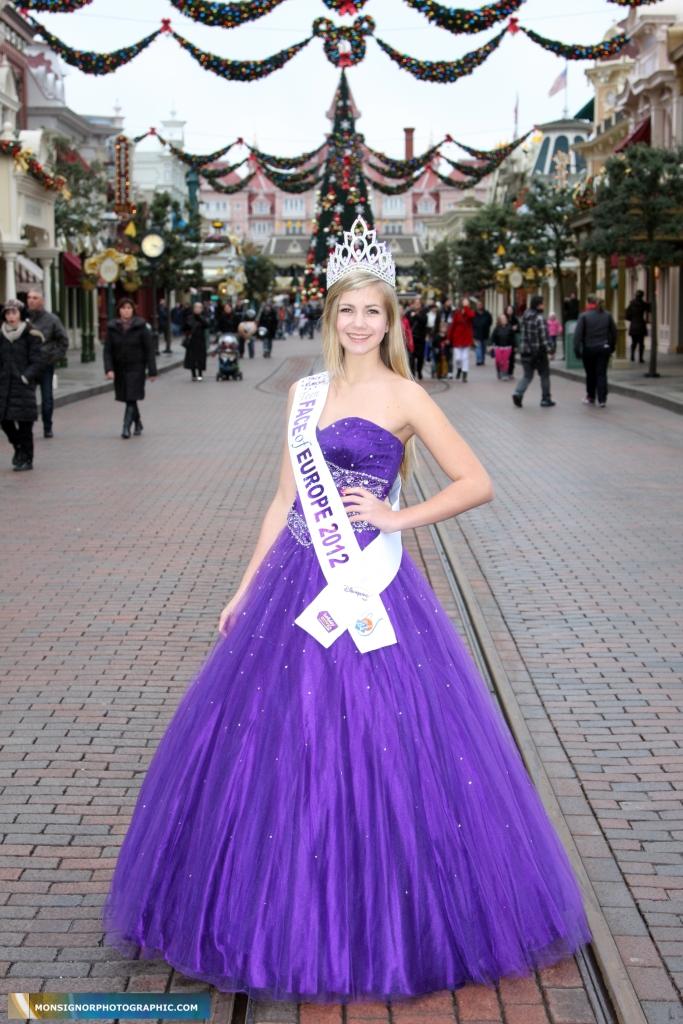 Teen Face of Europe winner Mariana Beckova