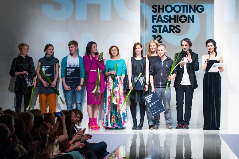 Shooting Fashion stars 2012