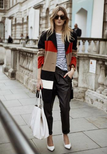 inspiration color block and stripes