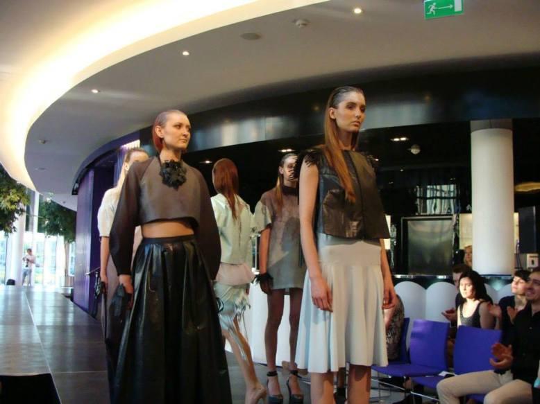 Tereza Rozalie Kladosova's mint and leather collection at Tomas Bata University