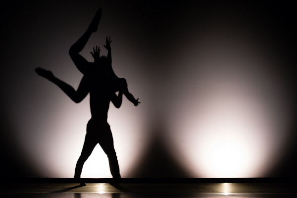Modern dance was choreographed to tell the stories of young lovers