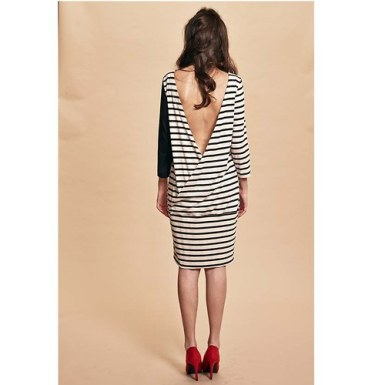 Stripes with an open back