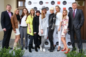 The opening of Prague Fashion Night 2014 in Old Town Square