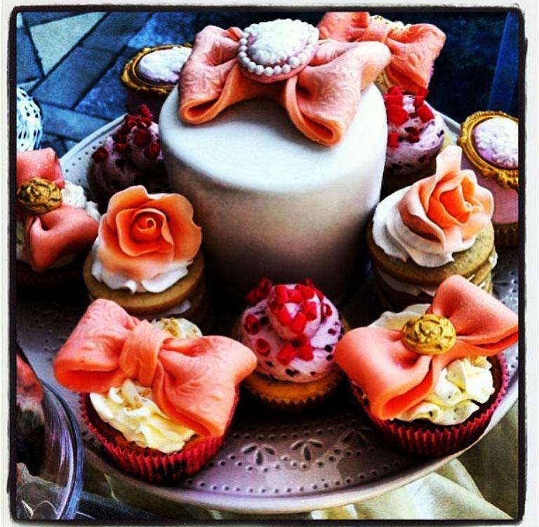 Punk Rock Cakes minicakes