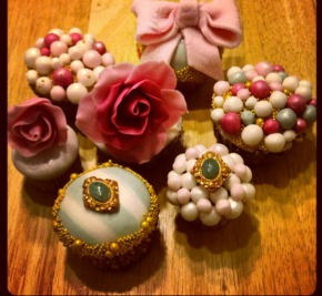 Minicakes perfect for a Marie Antoinette affair