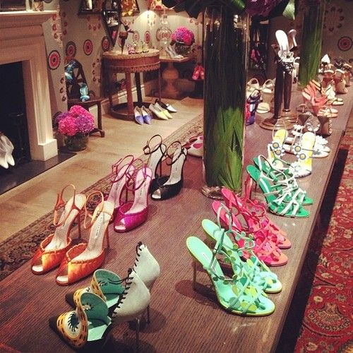 Manolo Blahnik S/S14 collection  Photo Credit: Pinterest