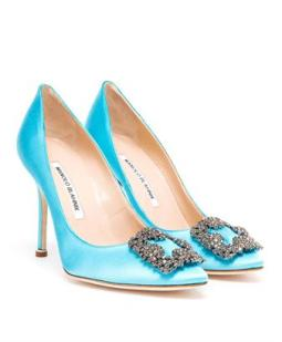 The Kind of the evening show Manolo Blahnik shoes why they court shoe will always be his