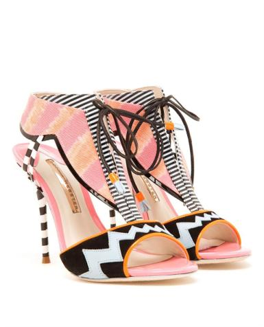 Sophia Webster creates the perfect T-sandal with graphics