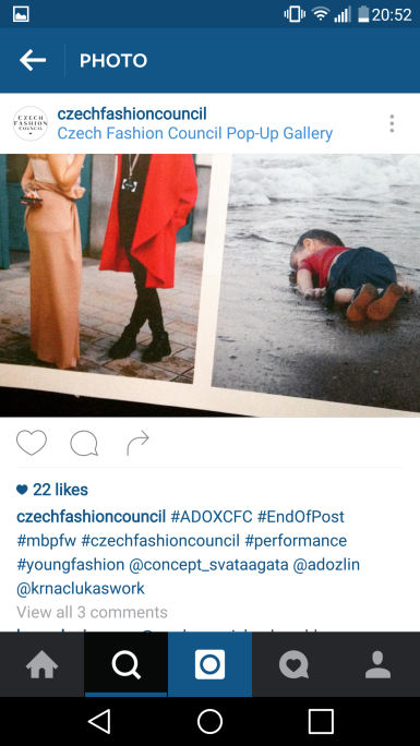 Czech Fashion Council Official Instagram