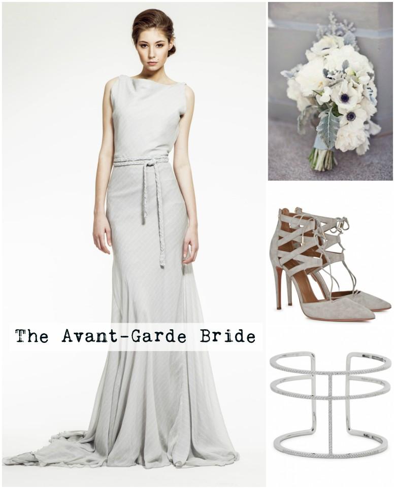 Avant garde bride